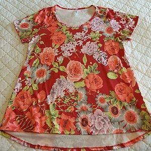 Floral LuLaRoe Classic T